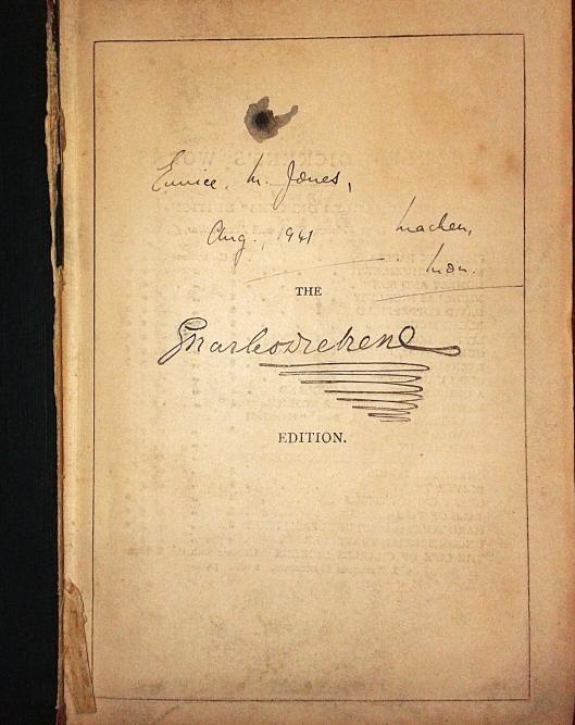 Dickens dc signature