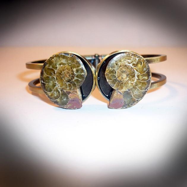 Relic - Sprung Ammonite Bracelet