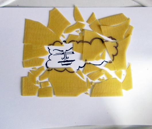 JM Finished cloud puzzle
